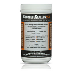 Concrete Sealers USA - CC501 Heavy Duty Concrete Cleaner (32 oz.) - Concentrated Industrial Strength Concrete Cleaner