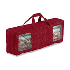 Classic Accessories - gift wrap storage organizer - When 'tis the season to find the trimmings, these clever and beautiful organizers will add comfort and joy. This complete holiday decoration storage line of protectively padded bags and totes keeps your ornaments organized, lights looped and trees tucked safely away.