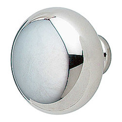 """Renovators Supply - Cabinet Knobs Bright Chrome Colonial Cabinet Knob 1 1/4"""" Dia - Simplicity is key here! This Colonial Chrome Knob is 1-1/4 in diameter."""