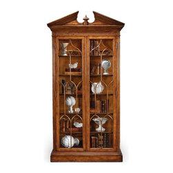 Jonathan Charles - New Jonathan Charles Bookcase Walnut Windsor - Product Details