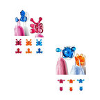 Kids Shower Hooks with Suction Cups -
