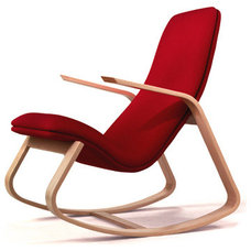 Contemporary Rocking Chairs And Gliders by Ella and Elliot