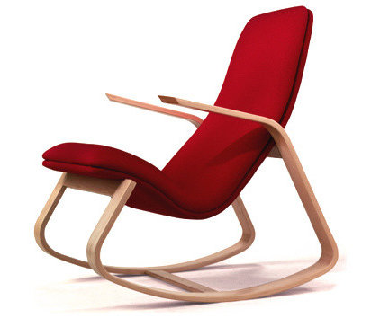 Contemporary Rocking Chairs by Ella and Elliot