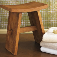 contemporary bathroom stools by GAIAM