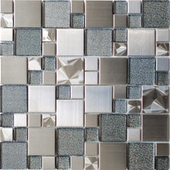 contemporary bathroom tile by Eden Mosaic Tile
