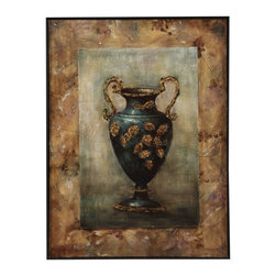 Bassett Mirror Company - Bassett Mirror Old World Grecian Urn II Canvas Art - Grecian Urn II Canvas Art belongs to Old World Collection by Bassett Mirror Company Bassett Mirror is fluent in this art, showing a terrific contemporary furniture that will satisfy on the one hand fans of home coziness, and on the other hand - seekers of non-standard design solutions also. One of the many strengths of the Bassett Mirror is using high quality materials for perfect embodiment of brilliant design ideas. Wall Art (1)
