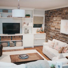 Eclectic Living Room by Stikwood