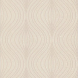 Graham and Brown - Zara Wallpaper, Beige - Opulent without being overwhelming. This subtle, yet mesmerizing wallpaper features a repeating geometric pattern that'll look lovely on any wall of your home. The registered emboss technique gives the image a raised effect.