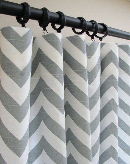 modern curtains by Etsy