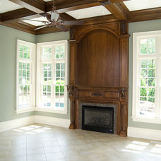 Traditional Fireplaces by Cabinets Custom