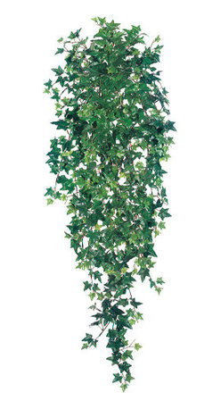Silk Plants Direct - Silk Plants Direct Sage Ivy Hanging Plant Bush (Pack of 6) - Silk Plants Direct specializes in manufacturing, design and supply of the most life-like, premium quality artificial plants, trees, flowers, arrangements, topiaries and containers for home, office and commercial use. Our Sage Ivy Hanging Plant Bush includes the following: