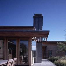 Modern Patio by CWB Architects