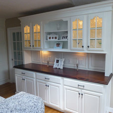 Traditional Kitchen Countertops by DeVos Custom Woodworking