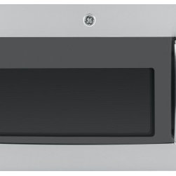 GE Profile - PVM9215 2.1 Cu. Ft. Over-The-Range Sensor Microwave Oven with Easy Clean Interio - GE Profile PVM9215 21 cu ft Over-the-Range Microwave Oven with 1000 Watts 10 Power Levels Sensor Cooking Controls Power Saver Mode Steam Cook Button and Four Speed Ventilation Fan