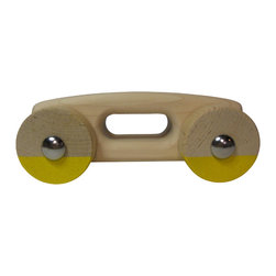 RootsRoller USA - RootsRoller - A Simple Toy, Primary Yellow - A simple toy.
