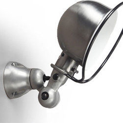 Jielde Loft Wall Lamp - Jielde Loft D1000x and D1020x by Jielde are the functional wall spot lamps. The classic french industrial design provides the ability to twist and turn at the joints at 180 degrees a robust and articulated design that that lets the fixture head to be turned in any desired direction.