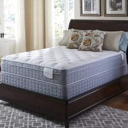 Serta - Serta Perfect Sleeper Luminous Euro Top Twin XL-size Mattress and Foundation Set - Help improve circulation and reduce the pressure points that can cause tossing and turning with this euro top twin XL-size mattress and foundation set by Serta's Perfect Sleeper collection.