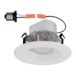 """Designers Fountain - Designers Fountain LED4741-WH 4"""" LED Recessed Trim, Magnetic - White Finish"""