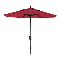 California Umbrella - 7.5 Foot Pacifica Aluminum Crank Lift Push Tilt Market Umbrella, Black Pole - California Umbrella, Inc. has been producing high quality patio umbrellas and frames for over 50-years. The California Umbrella trademark is immediately recognized for its standard in engineering and innovation among all brands in the United States. As a leader in the industry, they strive to provide you with products and service that will satisfy even the most demanding consumers.
