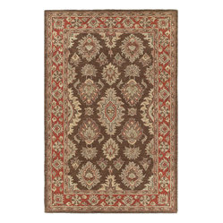 Kaleen - Kaleen Khazana Negril Coffee Rug - There's no need to pull the wool over your eyes — place it on your floor instead. This finely crafted rug is handtufted of pure virgin wool in a neutral color pattern that works well in modern-day interiors.