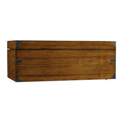 Hooker Furniture - Accent Trunk - Hope chest, accent trunk, extra storage chest ... it doesn't matter what you call it, just call it yours! Completely cedar lined, this trunk will keep your woolens, cashmere and blankets safe from moths and other pests.