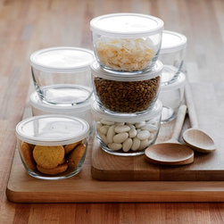Storage Bowl With Clear Lid -