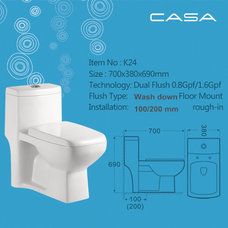 Traditional Toilets by Casa Sanitary Ware Factory