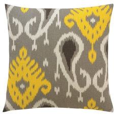 Traditional Decorative Pillows by Candelabra