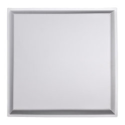 """Apollo Ceiling Tile - White - Perfect for both commercial and residential applications, these tiles are made from thick .03"""" vinyl plastic. Their lightweight yet durable construction make these tiles easy to install. Waterproof, these tiles are washable and won't stain due to humidity or mildew. A perfect choice for anyone wanting to add that designer touch at an amazing price."""