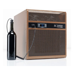 WhisperKOOL - WhisperKOOL SC 3000i Cooling Unit - Chill out! This unit keeps all your wine at the ideal temperature. boasting anti-frost and defrost features too. It's a high-tech must for your stellar cellar.