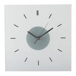 SKOJ Wall clock - Wall clock, glass