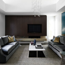 Contemporary Living Room by Christopher Elliott Design