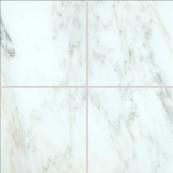 "Marbleville - MSI Arabescato Carrara 6"" x 6"" Honed Marble Floor and Wall Tile - Premium Grade Arabescato Carrara 6"" x 6"" Honed Mesh-Mounted Marble Mosaic is a splendid Tile to add to your decor. Its aesthetically pleasing look can add great value to the any ambience. This Mosaic Tile is constructed from durable, selected natural stone Marble material. The tile is manufactured to a high standard, each tile is hand selected to ensure quality. It is perfect for any interior/exterior projects such as kitchen backsplash, bathroom flooring, shower surround, countertop, dining room, entryway, corridor, balcony, spa, pool, fountain, etc."