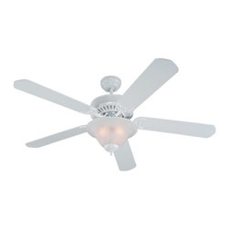 "Sea Gull Lighting - Sea Gull Lighting 52"" Quality Pro Deluxe Transitional Ceiling Fan X-51-B26151 - 4"" length x 0.5"" dia. downrod included."