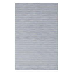 Rugsville - Rugsville Baby Light Blue rug 11940 5x8 - Handcrafted of pure, yarn-dyed wool by artisan rug makers.