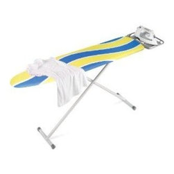 Honey Can Do - Honey Can Do Deluxe Full-Size Ironing Board with Iron Rest (BRD-01296) - Honey Can Do BRD-01296 Deluxe Full-Size Ironing Board with Iron Rest