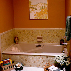 Eclectic Bathroom by Room Resolutions