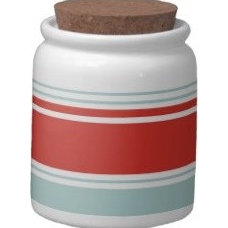 Contemporary Kitchen Canisters And Jars by Zazzle