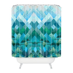 DENY Designs - Kei Ivor Shower Curtain - Who says bathrooms can't be fun? To get the most bang for your buck, start with an artistic, inventive shower curtain. We've got endless options that will really make your bathroom pop. Heck, your guests may start spending a little extra time in there because of it!