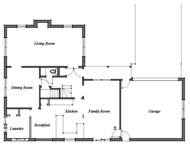 Floor Plan by Bud Dietrich, AIA
