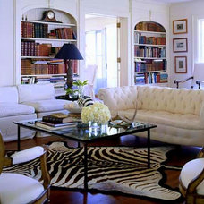 Eclectic Living Room by A. Rejeanne Interiors