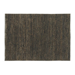 Uttermost - Uttermost Jessore 8 x 10 Rug - Brown 70015-8 - Hand Knotted Jute In Shades Of Brown And Beige With Cut And Loop Pile.