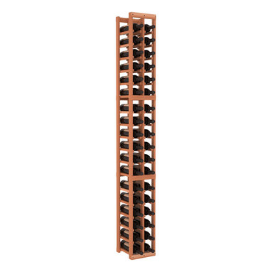 Wine Racks America - 2 Column Standard Wine Cellar Kit in Redwood, (Unstained) Redwood - Continue building your fine wine collection with this easy-to-assemble storage column. It's made of pine, available in your choice of colors and finishes, and is sure to fit virtually anywhere. Put it together and then ... cheers!