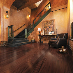 Mirage Floors - Mirage Floors Exotic Collection African Mahogany Henna