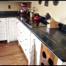 Traditional Kitchen Countertops by Artisan Group Stone and Wood Countertops