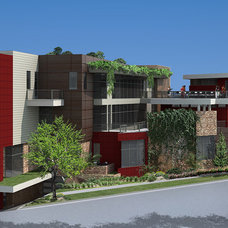 Contemporary Rendering by WPL, Inc.
