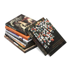 Kathy Kuo Home - Design Aficionado Coffee Table Books - Set of 8- Traditional - Collecting the perfect series of coffee table books can be a never-ending venture, so anyone with an appreciation for design with appreciate this set of Design Aficionado books.  Specifically chosen for neutral colors ideal for coffee table use, this set of eight books can be used anywhere in your home and will surely expose to something new in the vast world of design.
