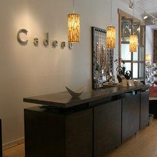 Modern Bar Tables by Durden Architecture