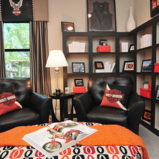 Traditional Home Office by Masterpiece Design Group