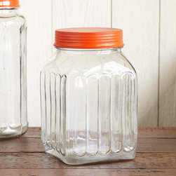 Clementine Glass Jars -